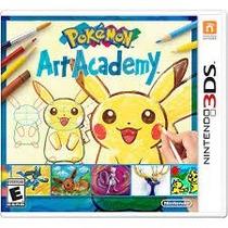 Jogo Do 3ds Game Pokémon Art Academy Novo Lacrado