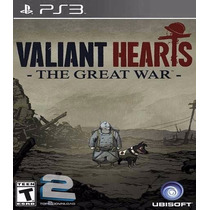 Valiant Hearts - Ps3 - O Mais Barato Do Ml!!