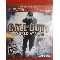 Call Of Duty World At War Para Ps3 Lacrado Pronta Entrega!
