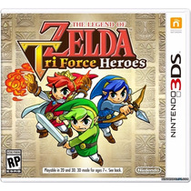 Jogo The Legend Of Zelda: Tri-force Heroes Nintendo 3ds