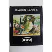 Jogo Atari 2600 Dragon Treasure - Cartucho Fita Dactar