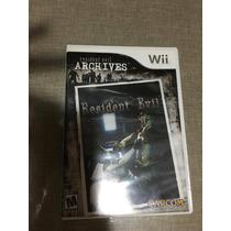Resident Evil Archives Nintendo Wii Original Usado Na Caixa