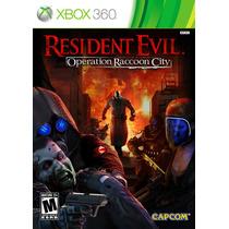 Resident Evil: Operation Raccoon City Xbox 360 Capcom