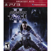 Star Wars The Force Unleashed 2 Ps3 Lacrado Rcr Games