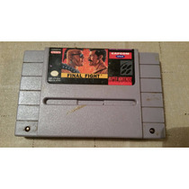 Final Fight 1 Original Snes Super Nintendo Labels Originais