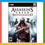 Assassins Creed Brotherhood - Pc Original E Lacrado