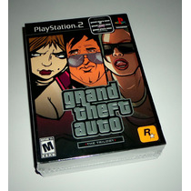 Grand Theft Auto: The Trilogy Original Lacrado - Ps2 E Ps3