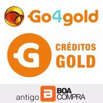 Créditos Go4gold (boa Compra) 25.000 Golds - Envio Imediato!