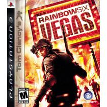 Tom Clancys Rainbow Six Vegas Frete Grátis Sdgames Play 3