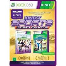 Jogo Xbox 360 Kinect Sports Ultimate Midia Fisica Lacrada