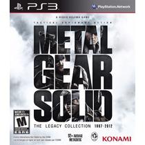 Metal Gear Solid The Legacy Collection Ps3 Original Lacrado