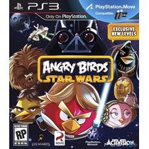 Angry Birds Star Wars Jogo Ps3 Original Lacrado