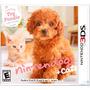 Jogo Game Nintendogs + Cats Toy Poodle 3ds Nintendo Lacrado