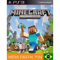 Jogo Minecraft Ps3 Edition Mídia Digital Psn Loja Oficial