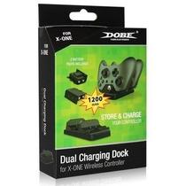 Carregador Controle Xbox One Dock + 2 Baterias Dobe Original