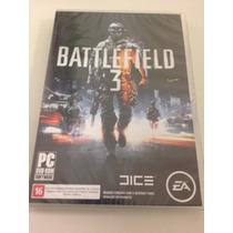 Battlefield 3 - Pc - Novo - Lacrado