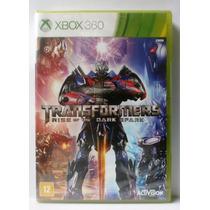 Transformers Rise Of The Dark Spark - Xbox 360 -novo Lacrado