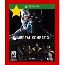 Jogo Mortal Kombat Xl Xbox One Offline Midia Digital Offline
