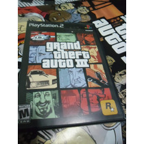 Gta 3 Original Playstation 2, Ps2, Ps3. Americano