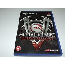 Mortal Kombat Deadly Alliance Ps2 Pal (frete Grátis)
