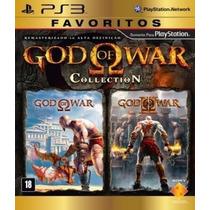 God Of War Collection 1 E 2 Ps3 Psn Original Envio Imediato
