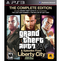 Gta Iv Complete Edition - 3 Jogos - Ps3 - Original - Psn