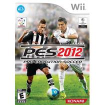 Pes 2012 Em Português - Jogo Original Nintendo Wii
