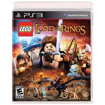 Jogo Lego The Lord Of The Rings Mídia Física Lacrada Ps3