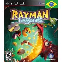 Rayman Legends Portugues Ps3 Código Psn Receba Hoje