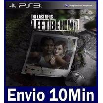Left Behind Dlc The Last Of Us Ps3 Código Psn Dublado