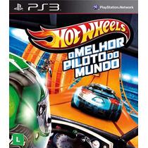 Hot Wheels O Melhor Piloto Do Mundo - Jogo Ps3 (leia)