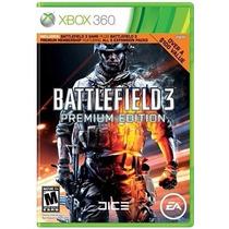 Jogo Battlefield3 Premium Edition Usado Xbox 360