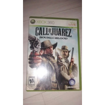 Call Of Juarez Bound In Blood Xbox 360