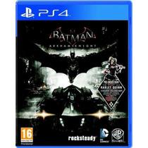 Batman Arkham Ps4 Secundária Conta Psn Dublado Envio Rapido