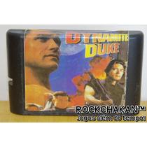 Dynamite Duke - Jogo - Cartucho - Mega Drive - Sega /genesis