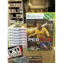 Pro Evolution Soccer 2016 Pes 16 Xbox 360 15/09 Pre-venda