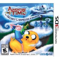 Adventure Time The Secret Of Nameless Kingdom Nintendo 3ds