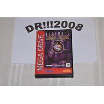 Mortal Kombat 3 Ultimate Original E Completo P/ Mega Drive!