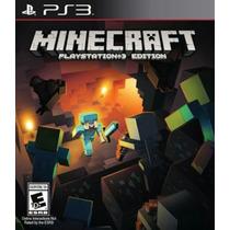 Minecraft Ps3 Psn Jogo Em Português Original