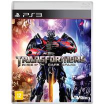 Jogo Transformers: Rise Of The Dark Spark Ps3