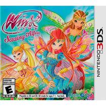 Jogo Novo Lacrado Winx Club Saving Alfea Para Nintendo 3ds