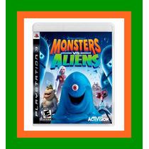 Monsters Vs. Aliens - Ps3 Lacrado