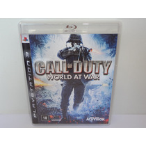 Call Of Duty World At War Ps3 Playstation 3 Quase Novo!