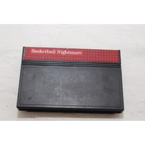 Jogo Cartucho Master System Basketball Nightmare - Ótimo