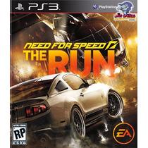 Jogo Ps3 - Need For Speed - The Run - Novo