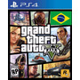 Gta V 5 Ps4 Portugues Grand Theft Auto V 5 Playstation 4