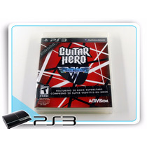 Ps3 Guitar Hero Van Halen Original Playstation 3