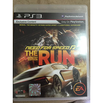 Jogo Ps3 Need For Speed The Run - Original