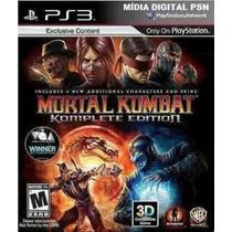 Mortal Kombat - Ps3s - Cod Psn - Edição Completa - Mca Games