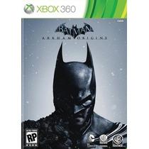 Batman Arkahm Origins + Dlc - Xbox 360. Pronta Entrega!!